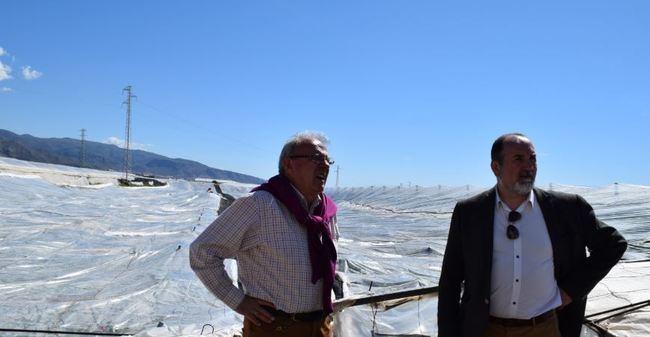 Antonio Bonilla pide que se investigue sobre el plástico agrícola para no colapsar en caso de sobrecarga