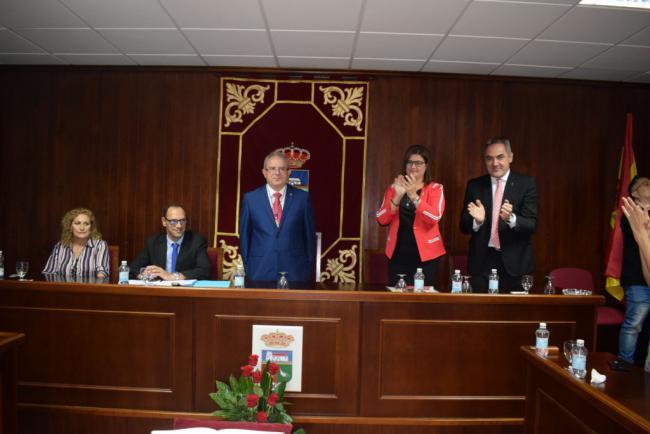 Bonilla Inicia Su Sexto Mandato Al Frente Del Ayuntamiento De Vícar