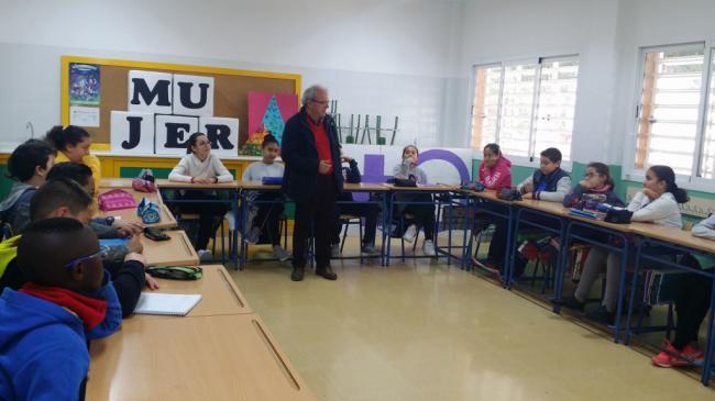 Los CEIP Félix Rodríguez De La Fuente en 'Tengo Una Pregunta Para Usted, Sr. Alcalde'