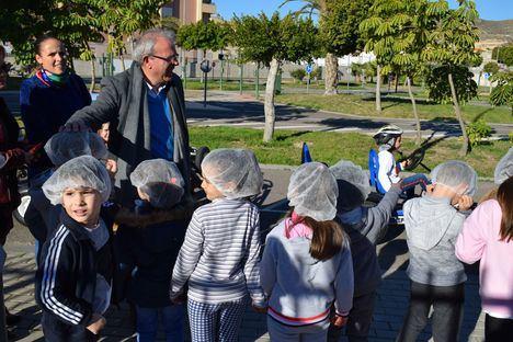El CEIP Blas Infante en el Proyecto Educación Vial De Vícar