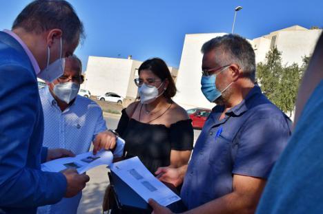 Vícar Recibe 120.000 Euros De La Junta Para La Avenida Del Prado