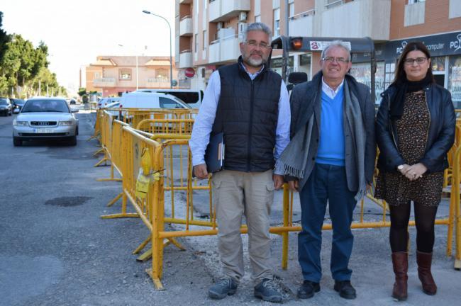 NEDGIA Andalucía Canaliza Otros 600 Metros De Gas Natural En El Bulevar De Vícar