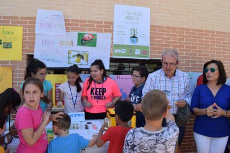 El CEIP José Saramago Celebra Con Éxito Su I Feria Medio Ambiental