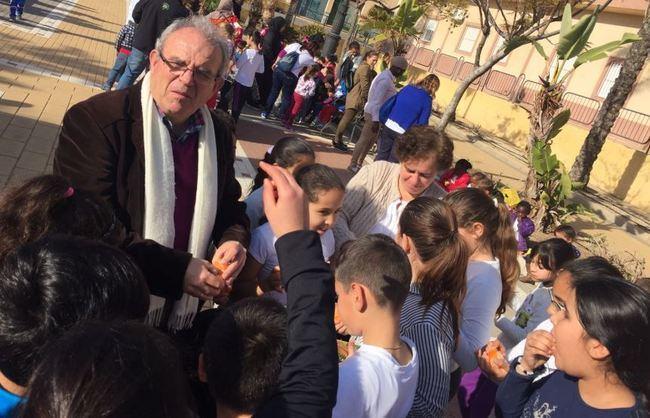 Colegios de Vícar Se Suman Al Día Escolar De La No-Violencia