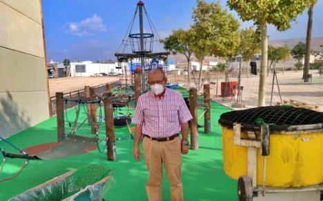 Finaliza La Remodelación Del Parque Del Caballo De La Gangosa