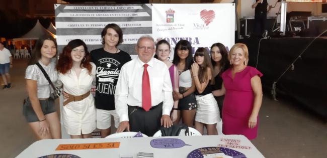 Campaña contra las agresiones machistas en las fiestas de Vícar