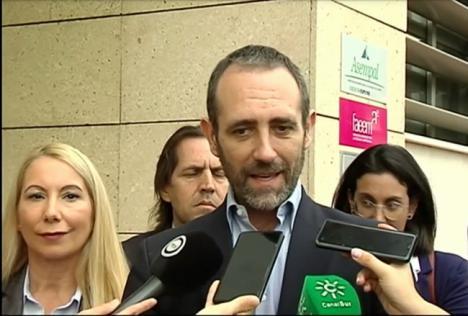 """Bauzá (Cs): """"Es inconcebible que Almería esté sometida a esta falta de conectividad con Europa"""""""
