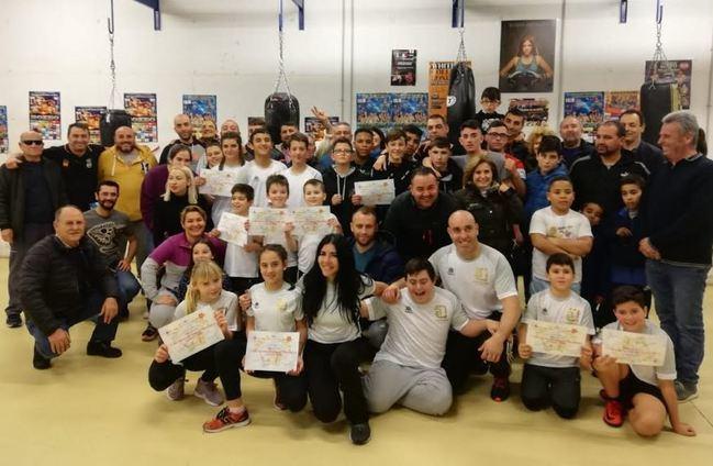 La I Jornada de los JDM de Boxeo reúne a 30 niños y niñas