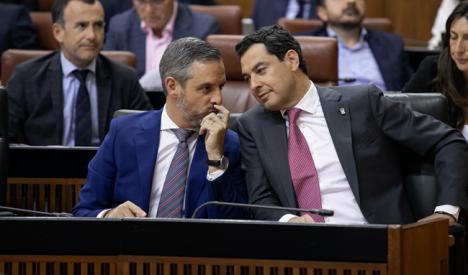 Andalucía logró superávit con el gobierno de PP-Cs