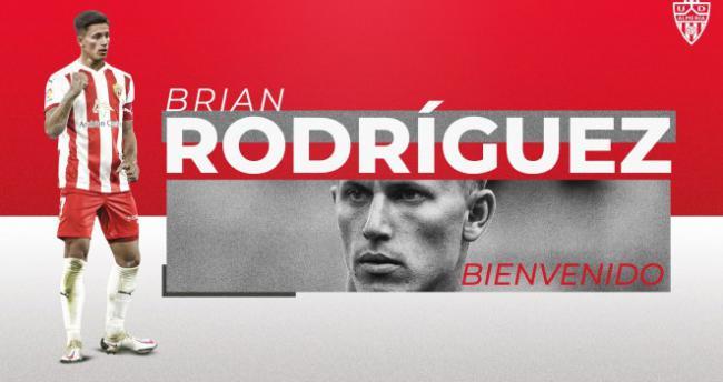 Brian Rodríguez, la perla del fútbol uruguayo, en la UD Almería