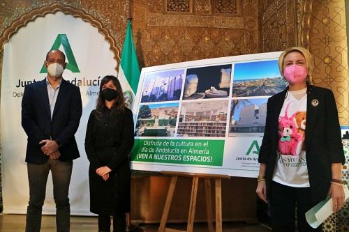 Alcazaba, Museo de Almería y Biblioteca Villaespesa celebran el 28F