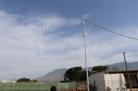 Vigilancia telemática en el yacimiento arqueológico de Ciavieja
