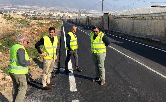 Finalizan las obras de rehabilitación estructural del Camino Aldenor
