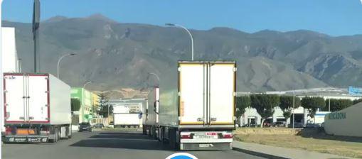 Camiones de Marruecos pillados metiendo producto hortícola en El Ejido