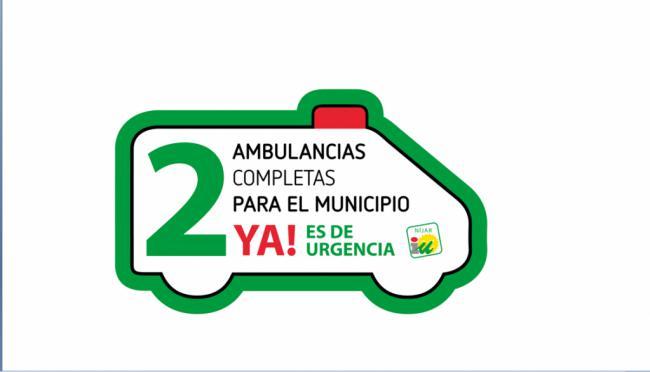 IU Níjar anuncia nuevas movilizaciones ante el recorte del servicio de ambulancia