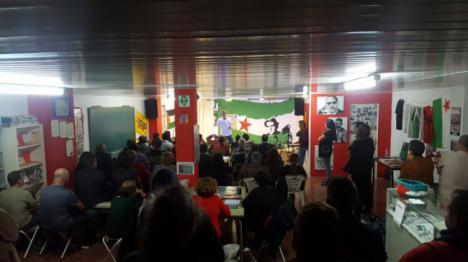 Un centenar de personas en la presentación de la candidatura de Nación Andaluza