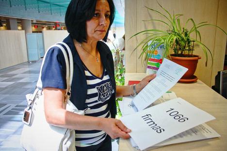 Cantoria presenta 1066 firmas pidiendo la intervención del Defensor del Pueblo en el caso de la UTAM