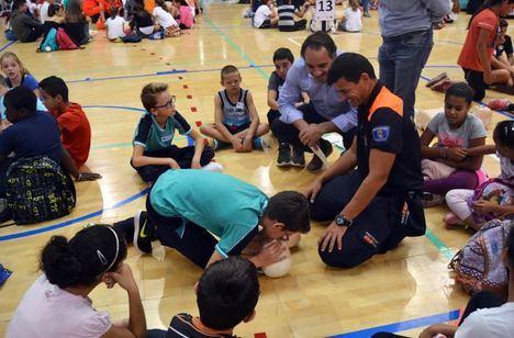 4.000 alumnos se entrenarán en técnicas de reanimación pulmonar