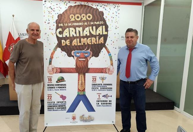 El Carnaval de Almería 2020 ya tiene el calendario