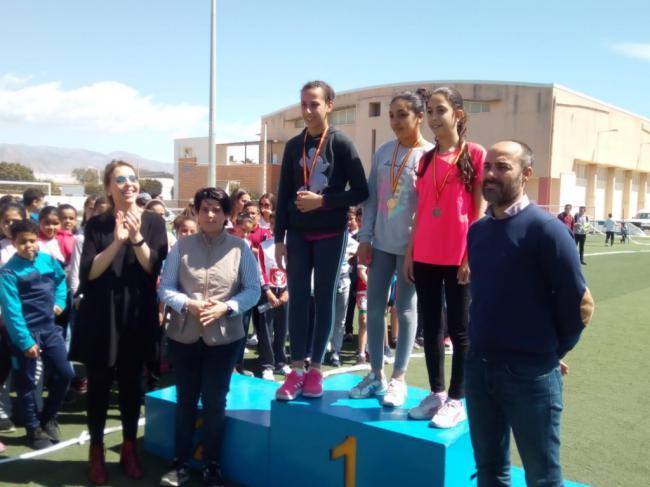 1.000 escolares en la Carrera Intercentros de la VIII Semana Cultural de Las Norias