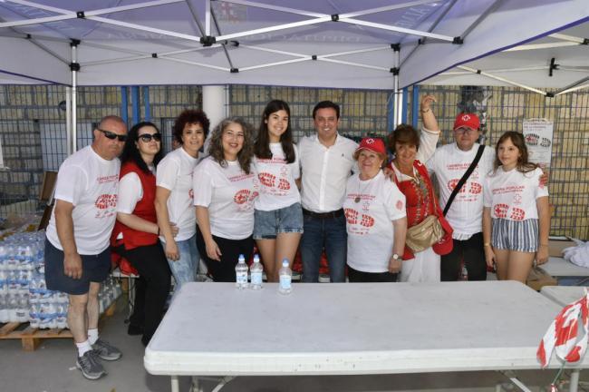 Mil almerienses participan en la XVII Carrera por la Convivencia de Cruz Roja