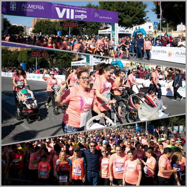 1.500 participantes en la VII Carrera de la Mujer
