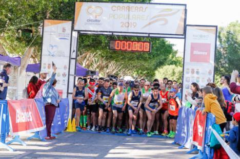 Más de 300 personas se suman a la Carrera Popular de Rioja