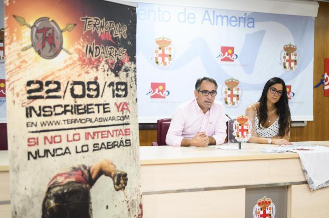 Almería vivirá su propia 'Batalla de las Termópilas' con una carrera de obstáculos