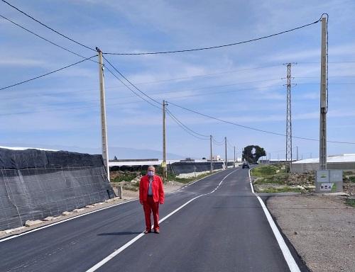 El Plan De Caminos 2020 mejora 5 kilómetros en Vícar