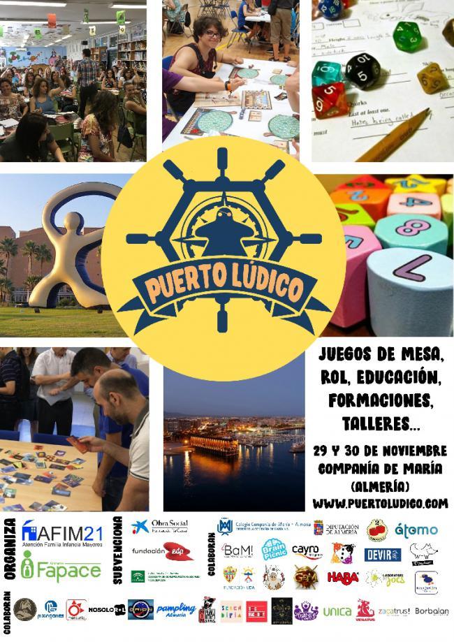 Diputación colabora con las I Jornadas Ludo-Educativas de Almería