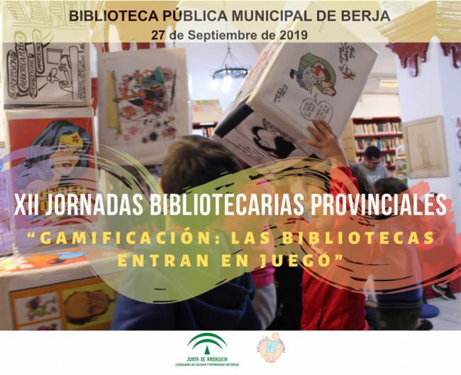 Berja acogerá las XII Jornadas Bibliotecarias Provinciales el 27 de septiembre