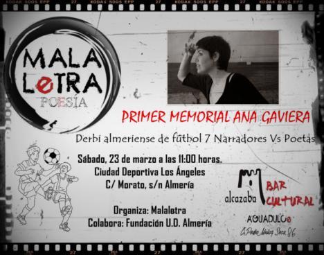 Malaletra enfrenta a poetas contra narradores en el I Memorial Ana Gaviera