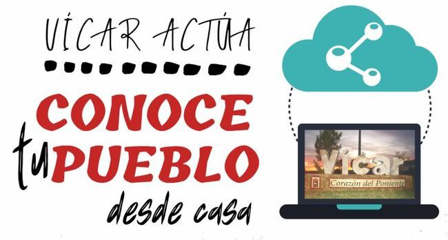 Vícar Traslada Su 'Conoce Tu Pueblo' A Los Hogares 'On Line'