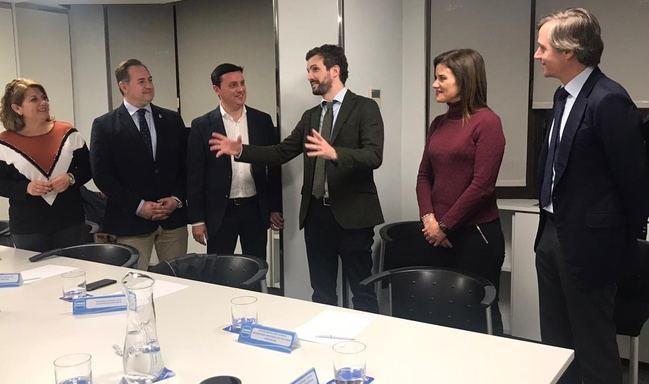 El PP incorpora a su agenda propuestas de alcaldes y alcaldesas de Almería