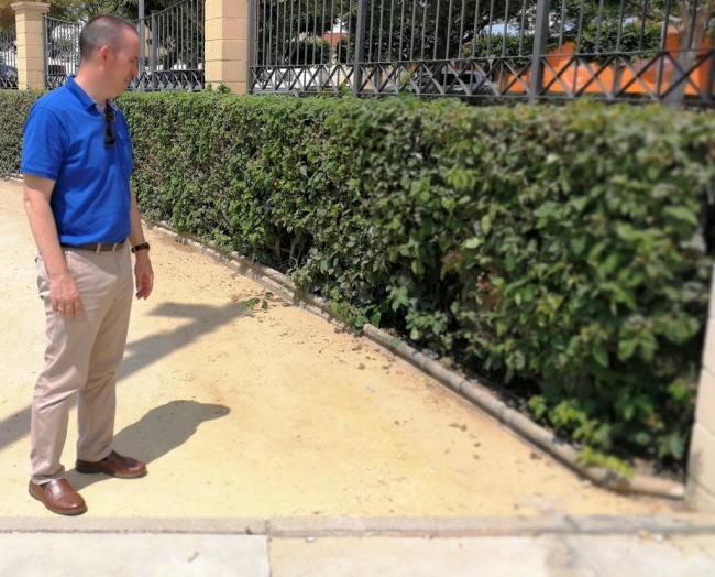 Ratas en el Parque Municipal de El Ejido
