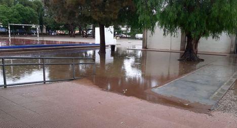 CSIF denuncia inundaciones, goteras y el mal estado de algunos colegios de la provincia