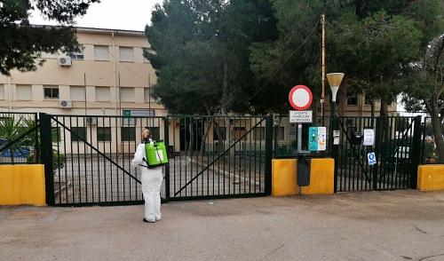 Cierre parcial del 1,17% de las aulas escolares de Almería