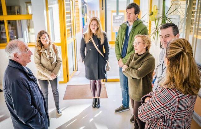 El alcalde visita el CEIP La Romanilla por las obras del Plan de Mantenimiento