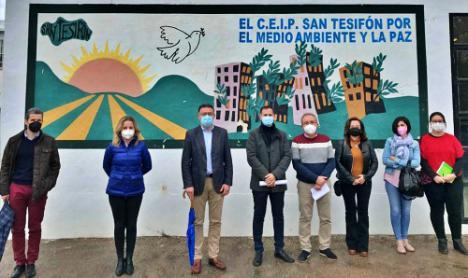 Educación invierte 150.000 euros el CEIP San Tesifón de Berja