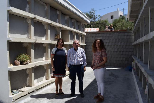 Finalizan La Rehabilitación Del Cementerio de La Villa De Vícar