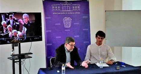 Igor Verbitsky en la jornadas de Divulgación Musical de DIESIS y Diputación en Huércal Overa