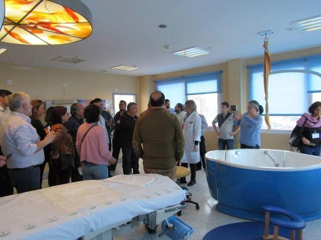 El Hospital de Poniente recibe la visita de profesionales del Ministerio de Salud de Chile