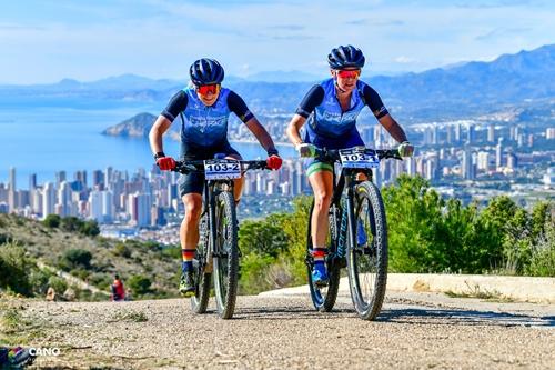 Triunfo femenino; segundo lugar masculino en la Costa Blanca Bike Race