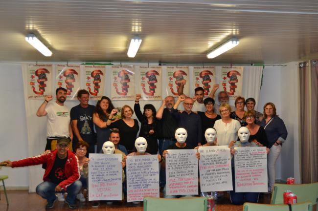 Almería Rebelde cierra campaña pensando en quienes no podrán votar