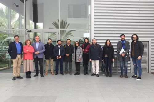 El CIESOL muestra a una delegación mexicana su eficiencia energética