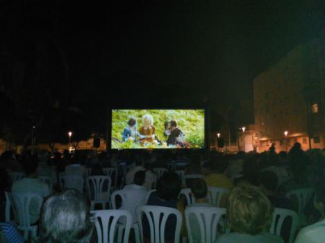 El Cine de Verano de Diputación se cierra con más de ocho mil espectadores