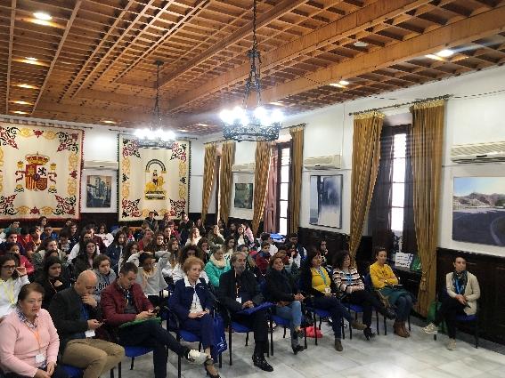 Los niños almerienses toman la palabra en el IV Encuentro Provincial Ciudades Amigas de la Infancia