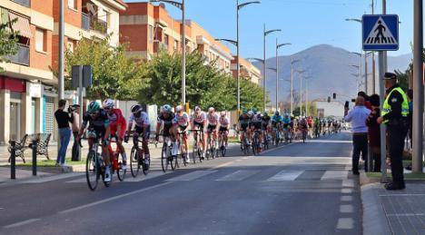 La Clásica ciclista de Almería vuelve a Berja este domingo