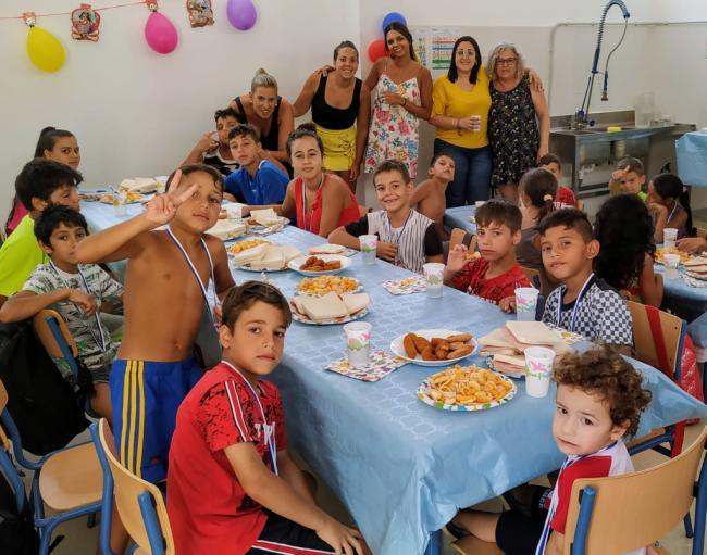 Cuevas clausura la Escuela de Verano del CEIP Ntra. Sra. del Carmen