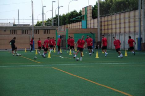 Primera semana de trabajo del CD El Ejido con ganas de fútbol